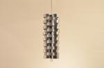 Grand Lustre - Anneaux en aluminium