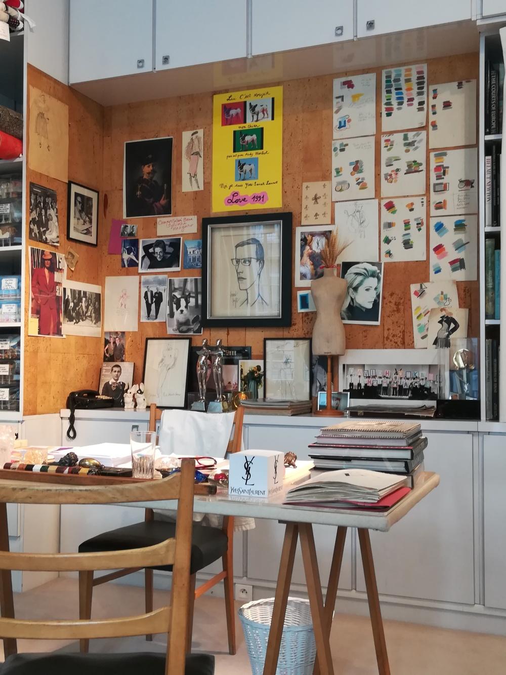 Atelier Yves Saint Laurent - Avenue Marceau, Paris